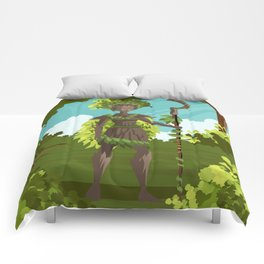 dryad nature tree forest guardian Comforters