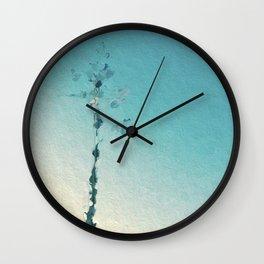 painted tree Wall Clock