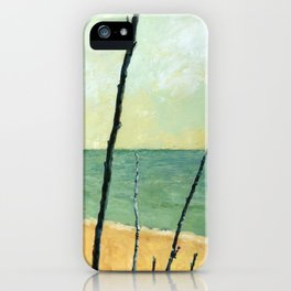 Branches on the Beach iPhone Case