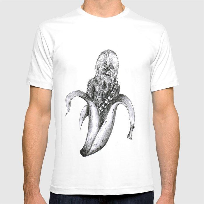 Chewbacca banana T-shirt