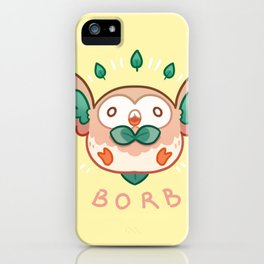 Rowlet Borb iPhone Case