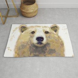 Golden Forest Bear Rug