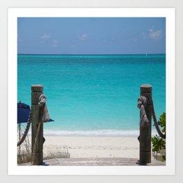 Gateway to the Caribbean Art Print
