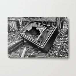 Kill Your Television Metal Print
