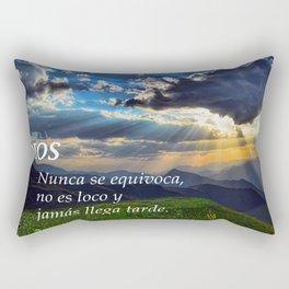 DIOS CON PAISAJE Rectangular Pillow
