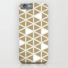 Tan Triangles iPhone 6s Slim Case