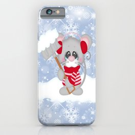 Time To Shovel iPhone Case