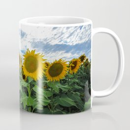 Sunflower Field in Southern Spain Coffee Mug
