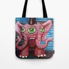 Pachyderm Goes Both Ways Tote Bag