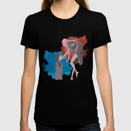 DARLING in the FRANXX Minimalist (Hiro and Zero Two) T-shirt