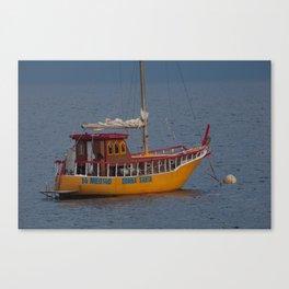 Italian Fishing Boat Canvas Print