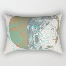 Second Spring Rectangular Pillow