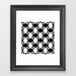 Geometric Pattern #162 Framed Art Print