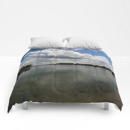 Yellowstone Lake View Comforters