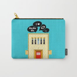 If walls could talk Carry-All Pouch