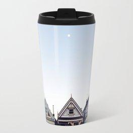 Moonlit Painted Ladies Travel Mug