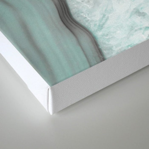 Glacial Agate Canvas Print