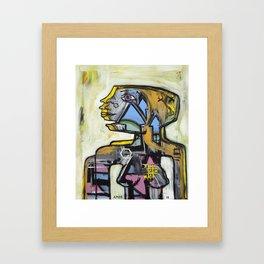 Bee Princess Framed Art Print