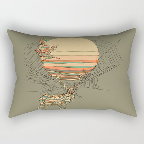 The Haunting Idle Rectangular Pillow