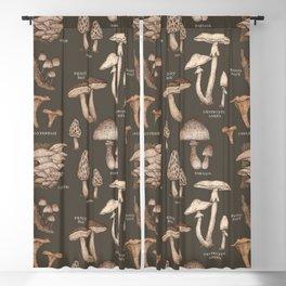 Mushrooms Blackout Curtain