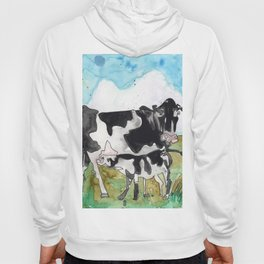 Cow Mommy Hoody