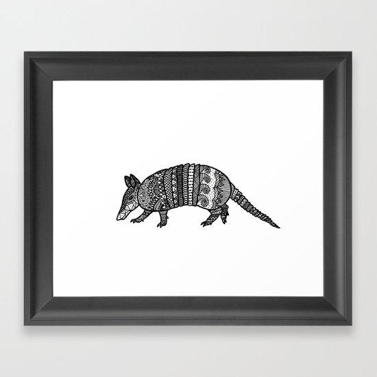 Armadillo Framed Art Print