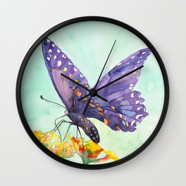 Butterfly#1 Wall Clock
