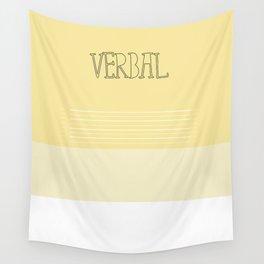 Verbal Wall Tapestry