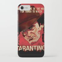 quentin tarantino iPhone & iPod Cases featuring TARANTINO Unchained by Jesus De La Mora