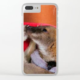 First Love  - Wallaby Babies Clear iPhone Case