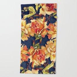 flowers pattern #flower #flowers #pattern Beach Towel