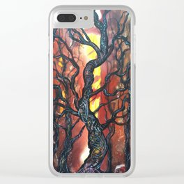 Summoning Tree Clear iPhone Case