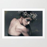 lux ex tenebris Art Print