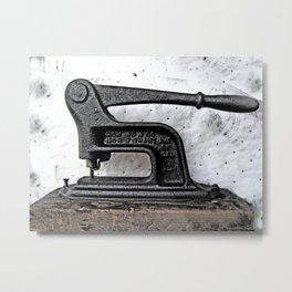 Ol' Punch Metal Print