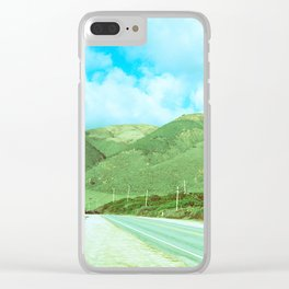 Salinas Mountains // California Clear iPhone Case