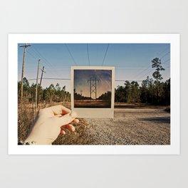 Polaroid Brought to Life Art Print