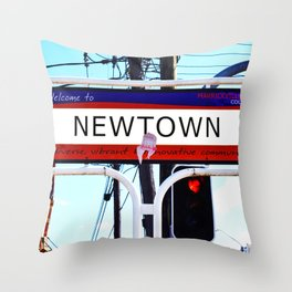 Newtown Throw Pillow
