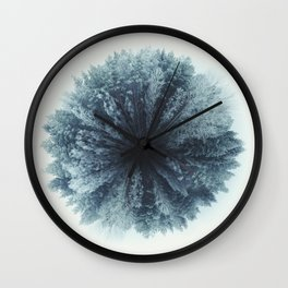 Forest world Wall Clock