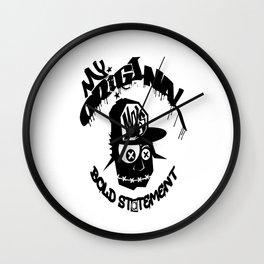 Stupid Head Mobs Wall Clock