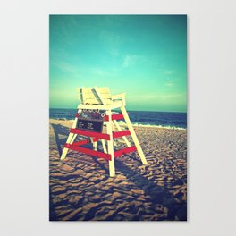 Cape May Lifeguard Stand Canvas Print