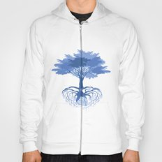 Heart Tree - Blue Hoody