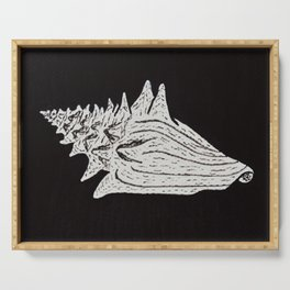 Conch Shell Serving Tray