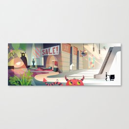 The Magical Land of IKEA Canvas Print