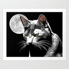 Nocternal Emission Art Print