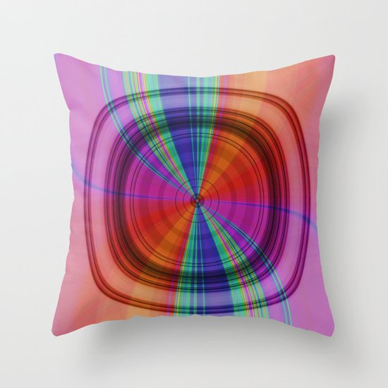 Abstract forms and colours no. 3 Throw Pillow