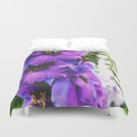 bee Duvet Covers featuring Bee by Siobhan N Malone