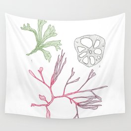 Seaweed and Lotus Root Wall Tapestry