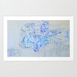 Windshield Wipers Art Print