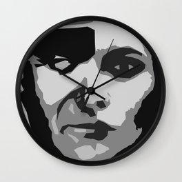 John Wayne Self Portrait Wall Clock