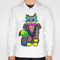 cheshire cat Hoodies featuring cheshire cat by soyalegato